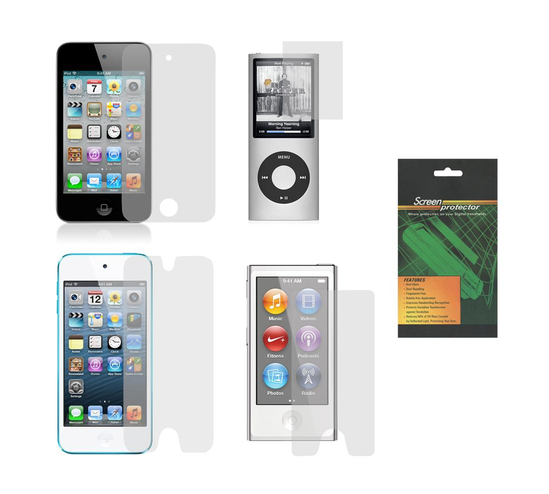 buy online f8e6b b1ed1 Details about 2X Clear Screen Protector Guard for Apple iPod Nano 3 4 5 6 7  Touch 1 2 3 4 5 6