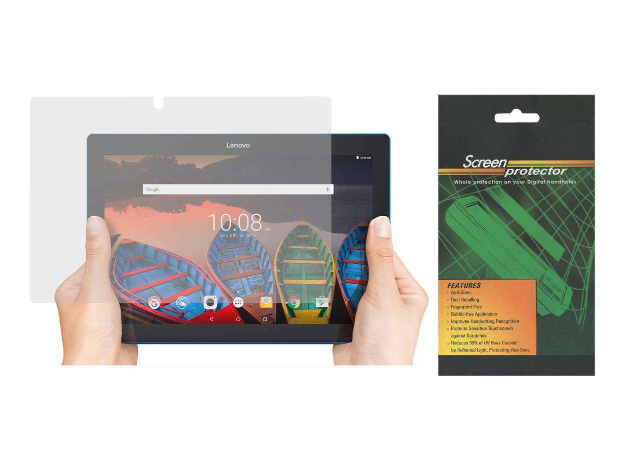 2x screen protector for lenovo tab 10 10 1 39 tb x103f tablet 2016 release 847564057459 ebay. Black Bedroom Furniture Sets. Home Design Ideas