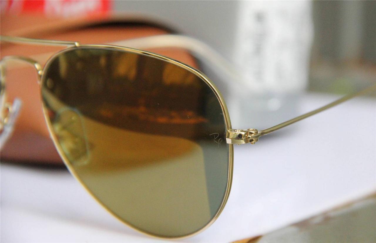 e1d61b1cc6 Ray Ban Aviator Polarized Gold 58mm Lenses Filters America ...