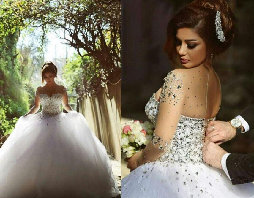 Ivory Wedding Gowns: Corset White Ivory Wedding Dress Cathedral/Church Ball