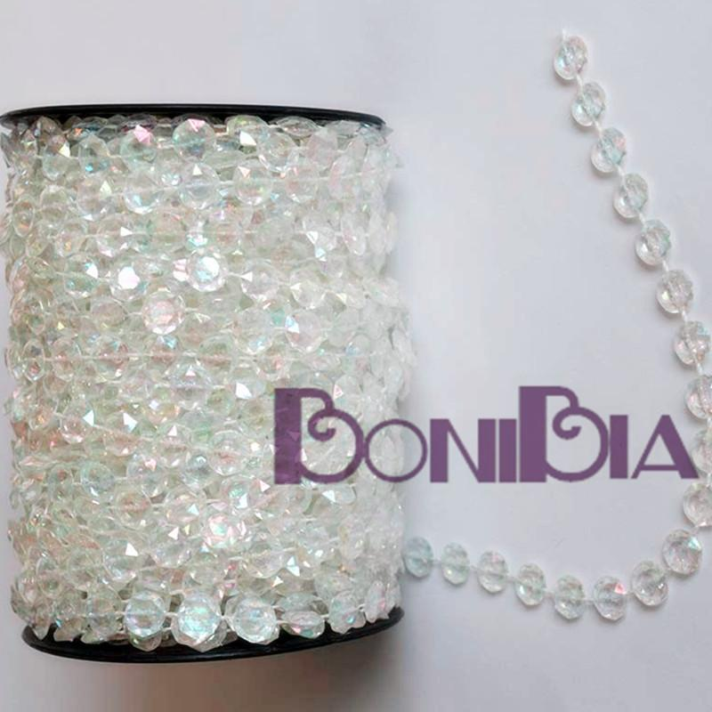 White Pearl Beads Strand Garland Acrylic Wedding Pearl: 65ft Wedding Home Party DIY Decorations White Pearl
