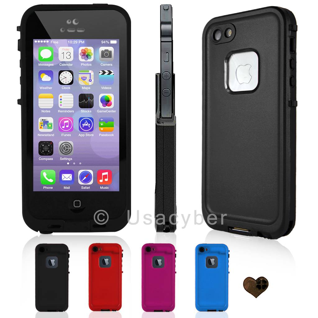 best waterproof iphone 5s case best quality waterproof shockproof cover for 16712