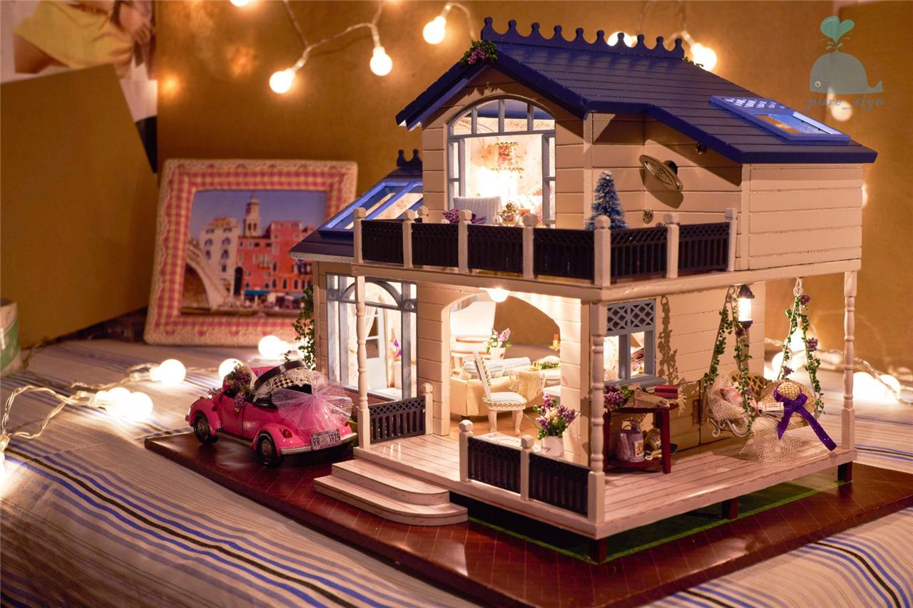 Costruire Una Casa Delle Bambole Di Legno : Fai da te artigianato miniatura casa delle bambole my provence