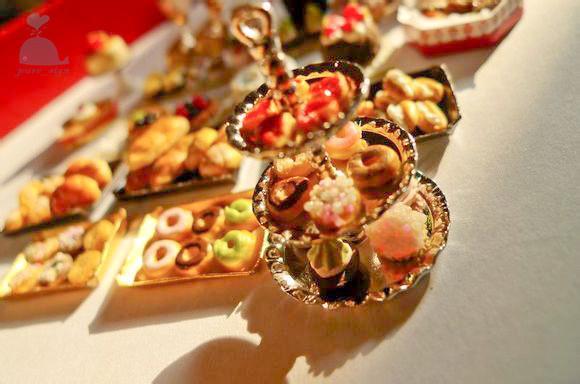 Progetto fai da te Handcraft in miniatura casa di bambole in legno La mia pattiserie a Parigi