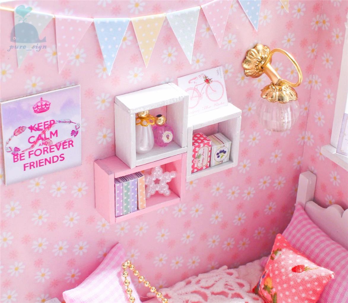 Dolls House À faire soi-même 200 mm Piano Charnière /& Vis