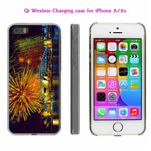qi wireless charging receiver for iphone 5 5s se charger. Black Bedroom Furniture Sets. Home Design Ideas