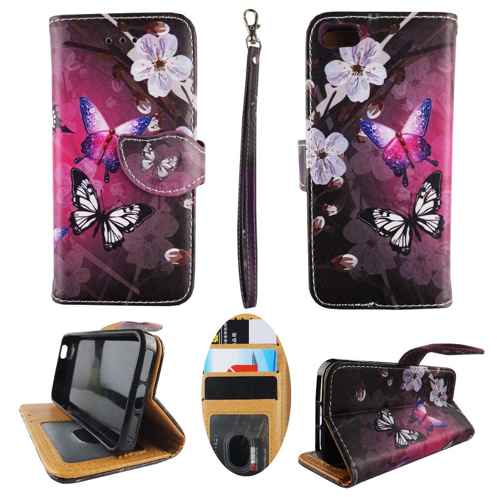 wallet case for iphone 5 for iphone se 5s 5 wallet mobile phone flip wristlet 18165