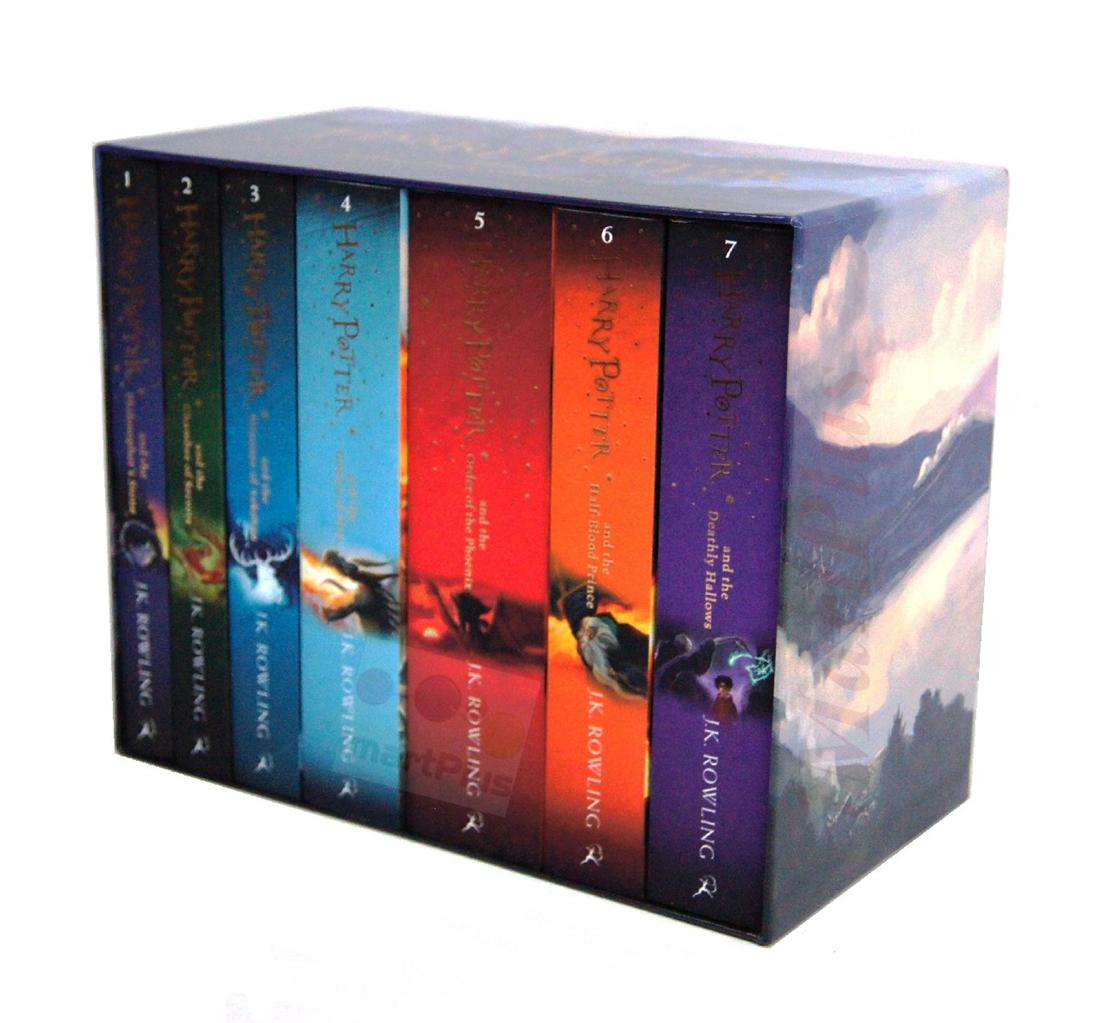 Harry Potter 7 Books The Complete Collection Paperback Boxed Set Children Edition Brand New