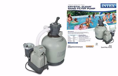 Intex Krystal Clear Sand Filter Pump Above Ground Pools