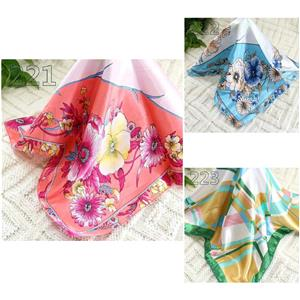 New Sale 50cm Fashion Elegant Silk Satin Womens Small Square Head Neck Scarf 179