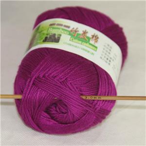 Sale New 1ballX50g Soft Baby Socks Natural Smooth Bamboo Cotton Knitting Yarn 15