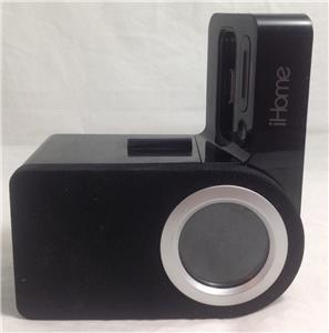ihome for iphone 5 ihome ip41 rotating alarm clock for ipod and iphone black 14330