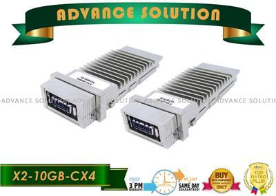 Lot of 2 Genuine Cisco X2-10GB-LRM Transceiver Module