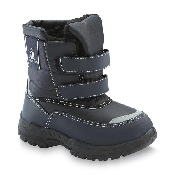 Rugged Bear RB72162 Boys Snow Boots Navy combo Toddler | eBay