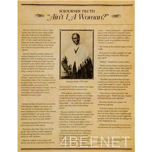 sojourner truth of the matter aint i actually any lover essay