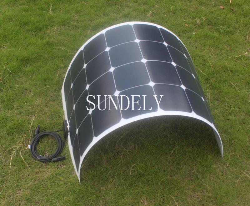 Flexible Solar Panel 100 Watt 12v Sunpower Mono