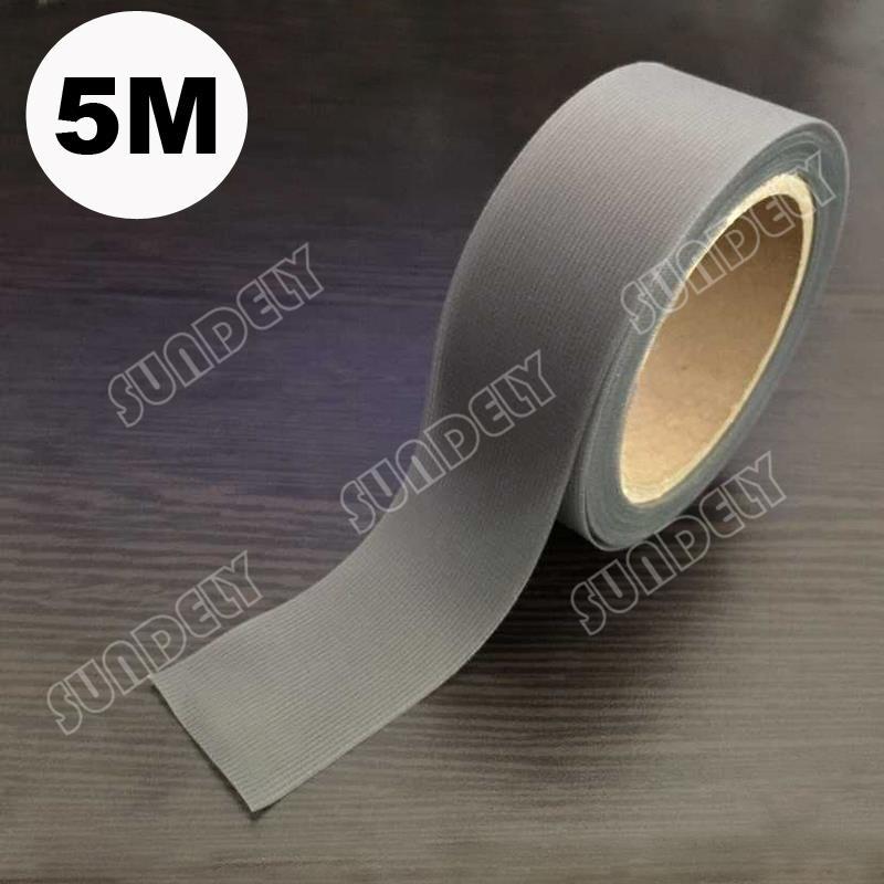 SUNDELY 5m x 22mm Seam Sealing Tape Dark Grey 1-Pcs