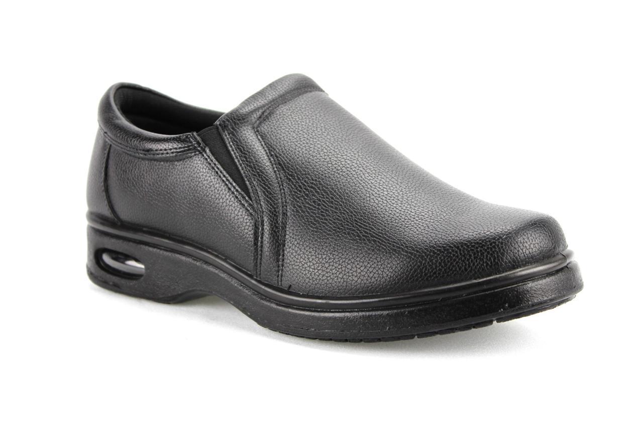 No Slip Black Restaurant Shoes