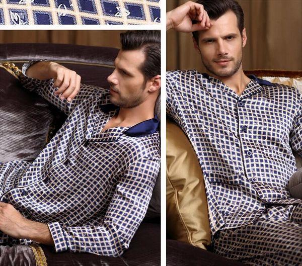 Шелковая пижама мужская купить интернет