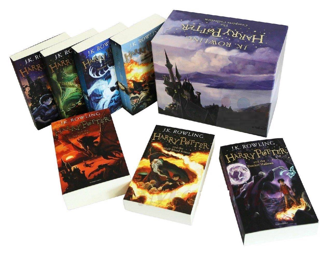 Harry Potter Book Box Set Australia ~ Harry potter books the complete collection paperback