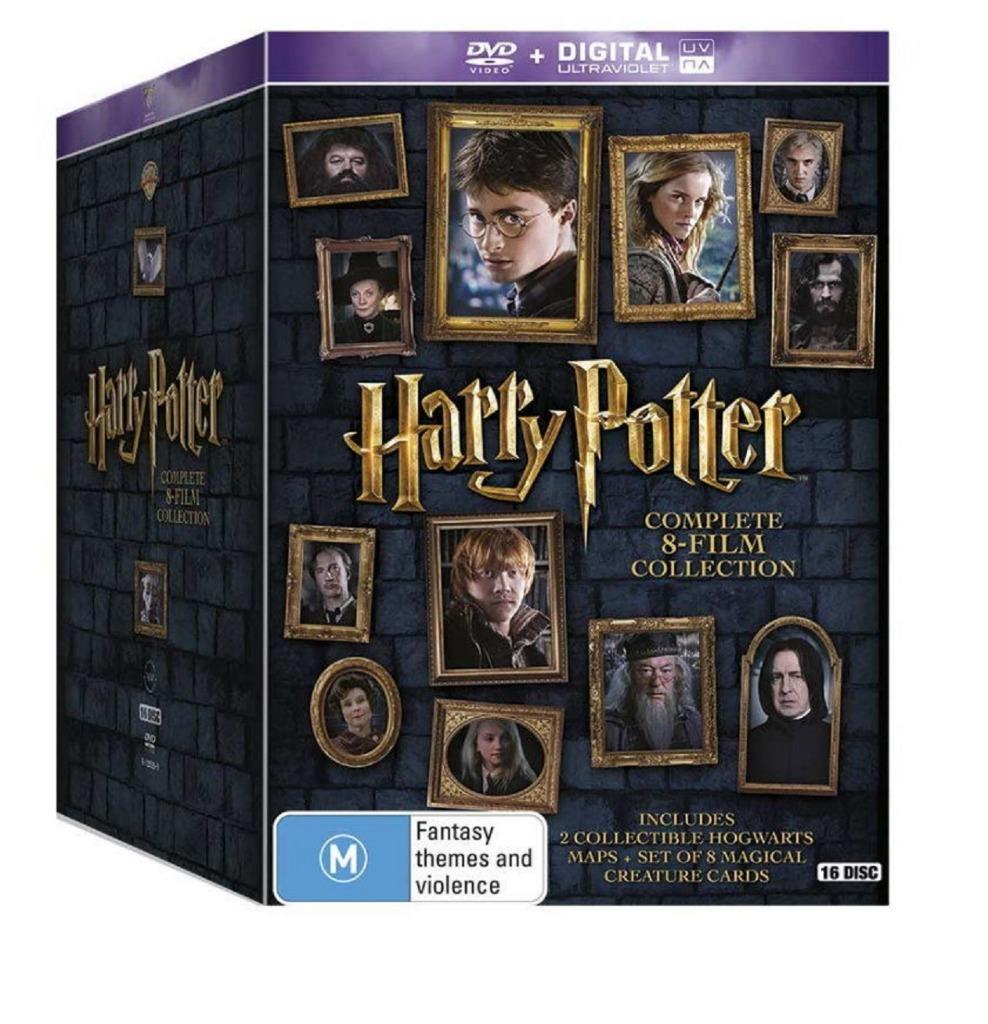 harry potter dvd box