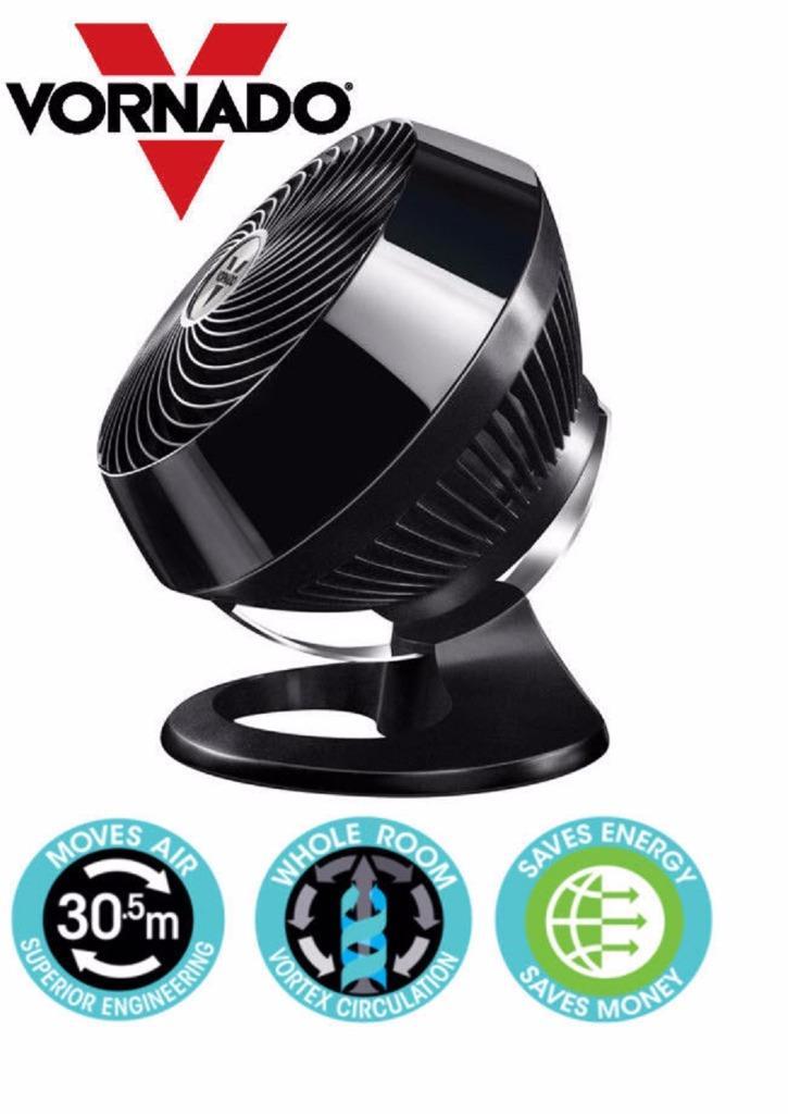 Vornado Vortex 660 Floor Fan Amp Air Circulator Gloss White