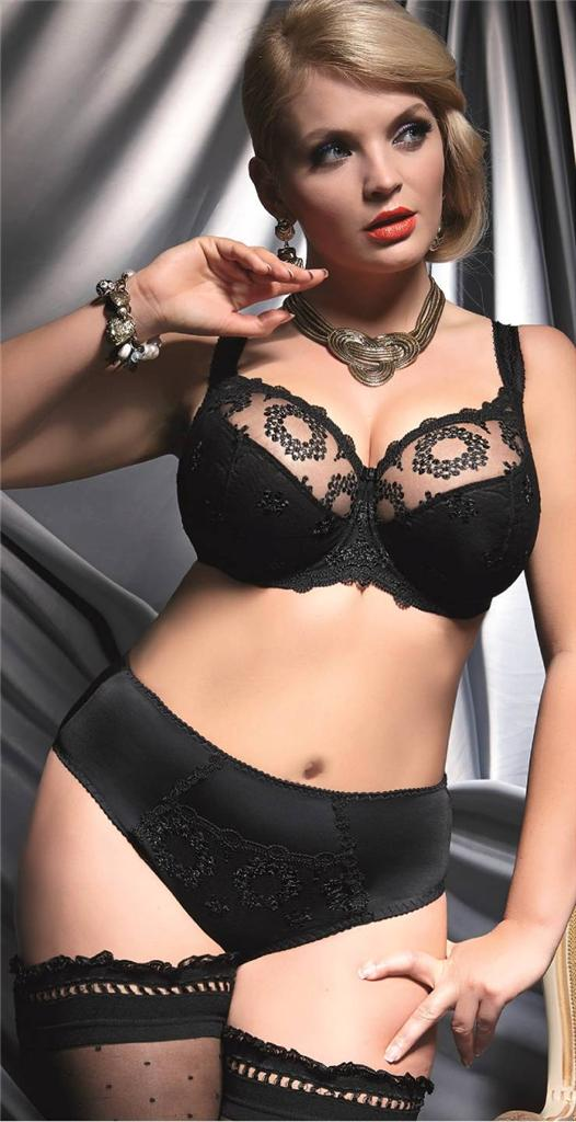 9eaa91de1a NEW ! Fortuna Black Soft Bra by Kris Line (US   UK sizing)