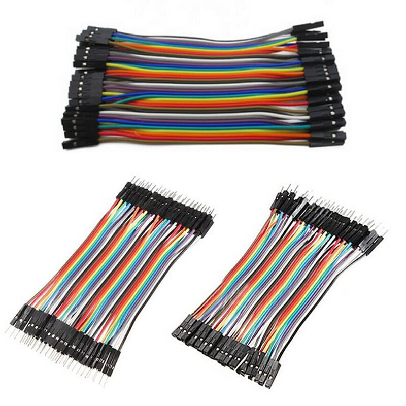 40x Cables Dupont 20cm Male//Male pour BreadBoard Arduino Raspberry Pi
