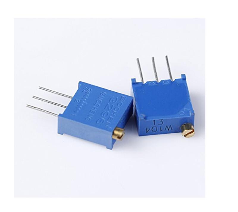 25pcs 50K ohm Trimmer Trim Pot Potentiometer Resistor 3362