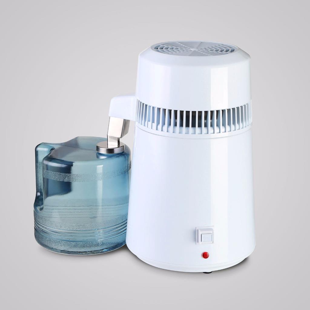 4l litre 110v 220v maison m dical inoxydable pur eau filtre distillateur alambic ebay. Black Bedroom Furniture Sets. Home Design Ideas