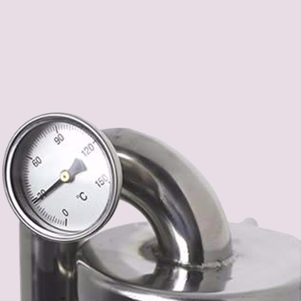 971749918_o 10L-15L  Alambique Destilador Termometro Inoxidable Enfriador Vino Agua Aceite
