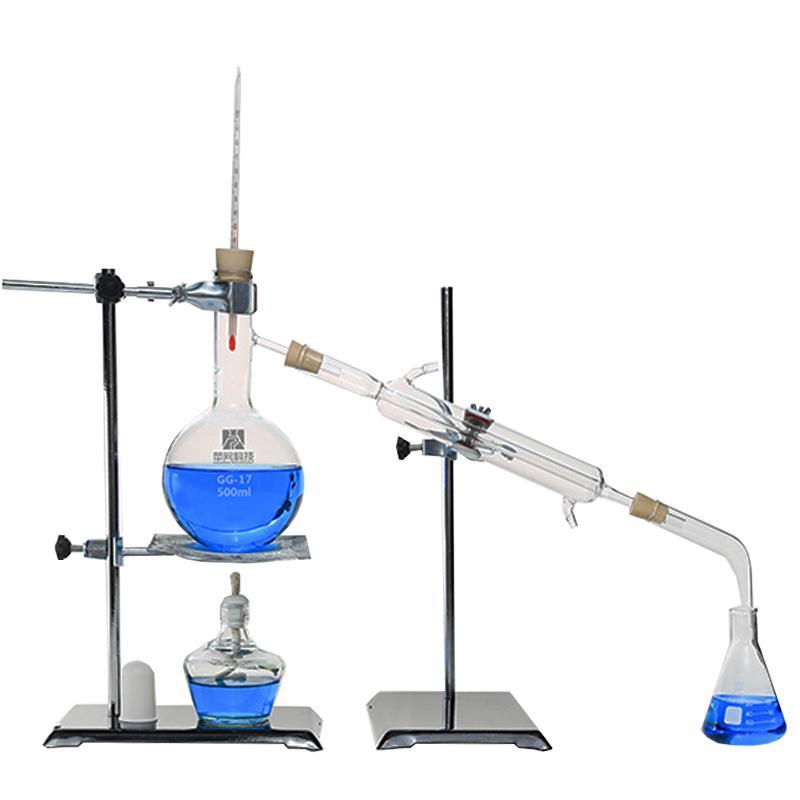 100ml 2000ml labor therisches le destille rein wasser ger t glaswaren satz ebay. Black Bedroom Furniture Sets. Home Design Ideas