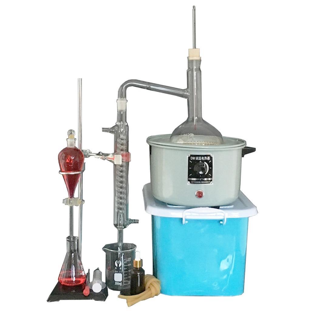 1000ml neue labor therisches le rein wasser ger t destille glaswaren satz ebay. Black Bedroom Furniture Sets. Home Design Ideas