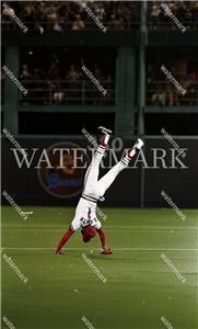 DR999 Ozzie Smith St Louis Cardinals Action 8x10 11x14 16x20 Photo