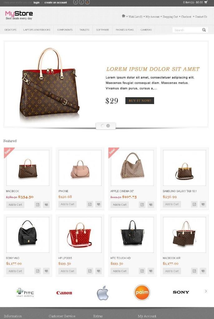 Online Shop / Store Shopping Cart eCommerce Complete Website With Hosting