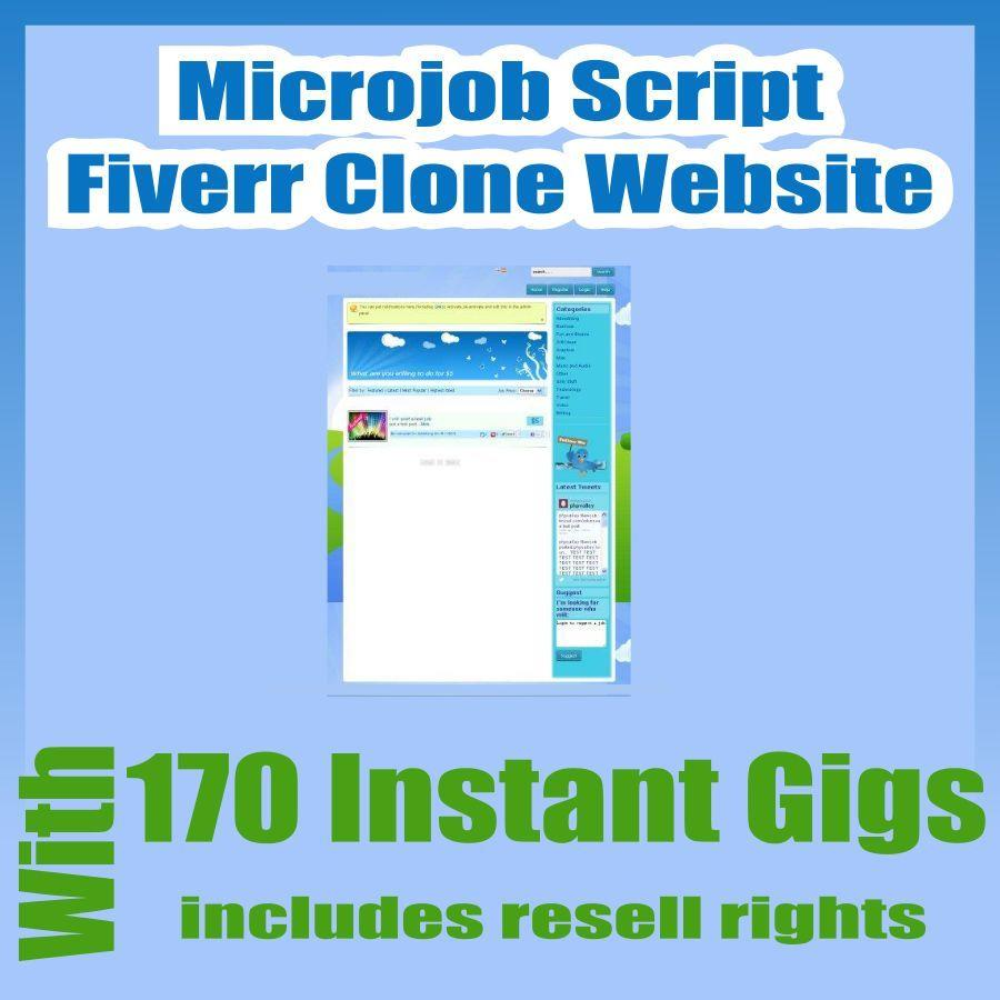 Details about Microjobs Website Fiverr Clone Script With 170 gigs  Installation + Free Hosting