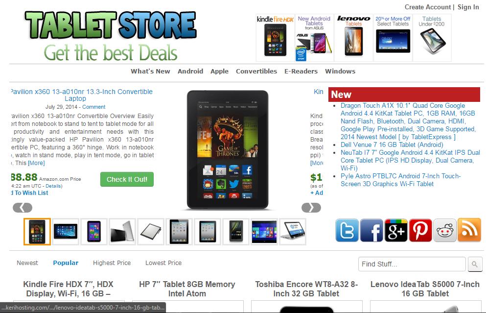 amazon website hosting free