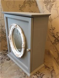 shabby chic bathroom cabinet with mirror shabby chic mirror wall cabinet vintage style bath 25729