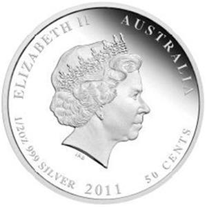 KOALA 1//2 Oz Silver Coin Australia 2011 50 ¢ Australian Bush Babies Rare