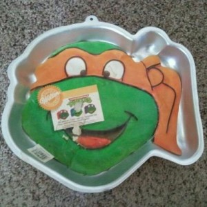 Wilton Teenage Mutant Ninja Turtles Cake Pan 2105 4436 Boy