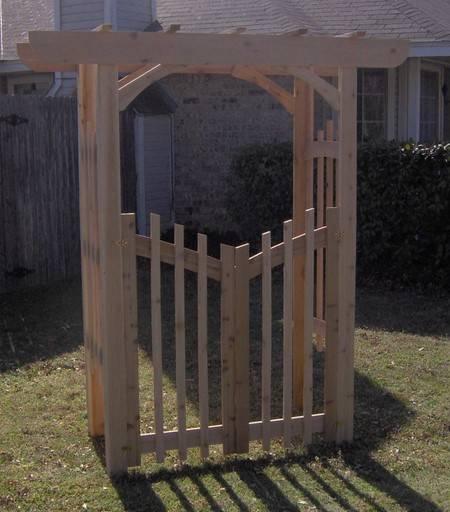 Unique Arbor Gate: BRAND NEW CEDAR DECORATIVE GARDEN ARBOR PERGOLA WITH