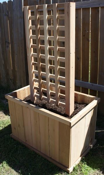 New Cedar Wood Planter Box 2 Ft X 4 Ft X 2 Ft With 6 Ft