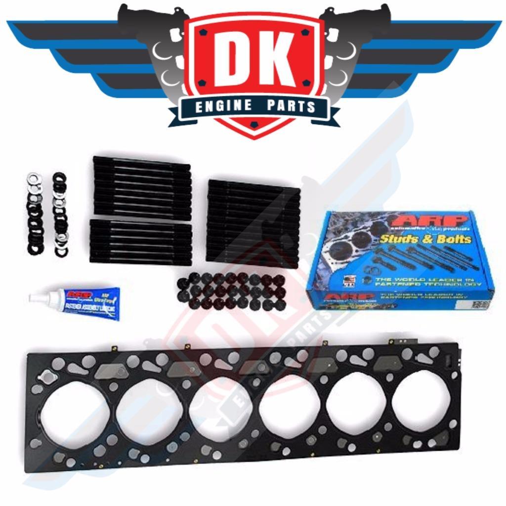 Arp Head Studs 6.0 >> Head Gasket and ARP Studs Kit For Cummins 6.7 Diesel Dodge Ram 2500 3500 4500   eBay