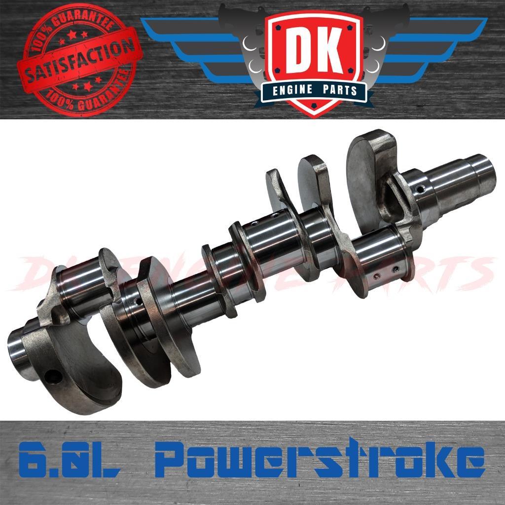 6.0 Powerstroke Crank No Start >> Details About New Ford 6 0 6 0l Powerstroke Crankshaft F250 F350 6 0l Crank No Core Charge