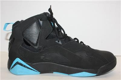 7a694f50b9b542 342964 007 nike air jordan 7 true flight basketball shoes black blue
