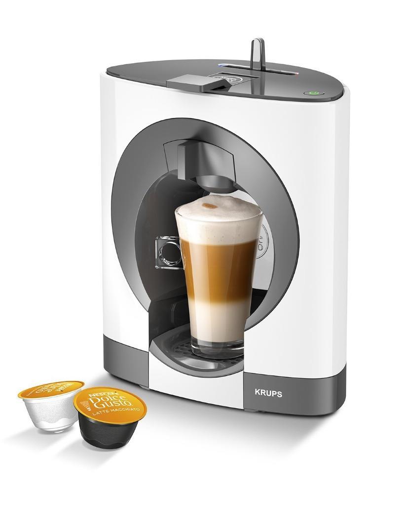 nescafe dolce gusto oblo manuelle machine caf by krups blanc ebay. Black Bedroom Furniture Sets. Home Design Ideas