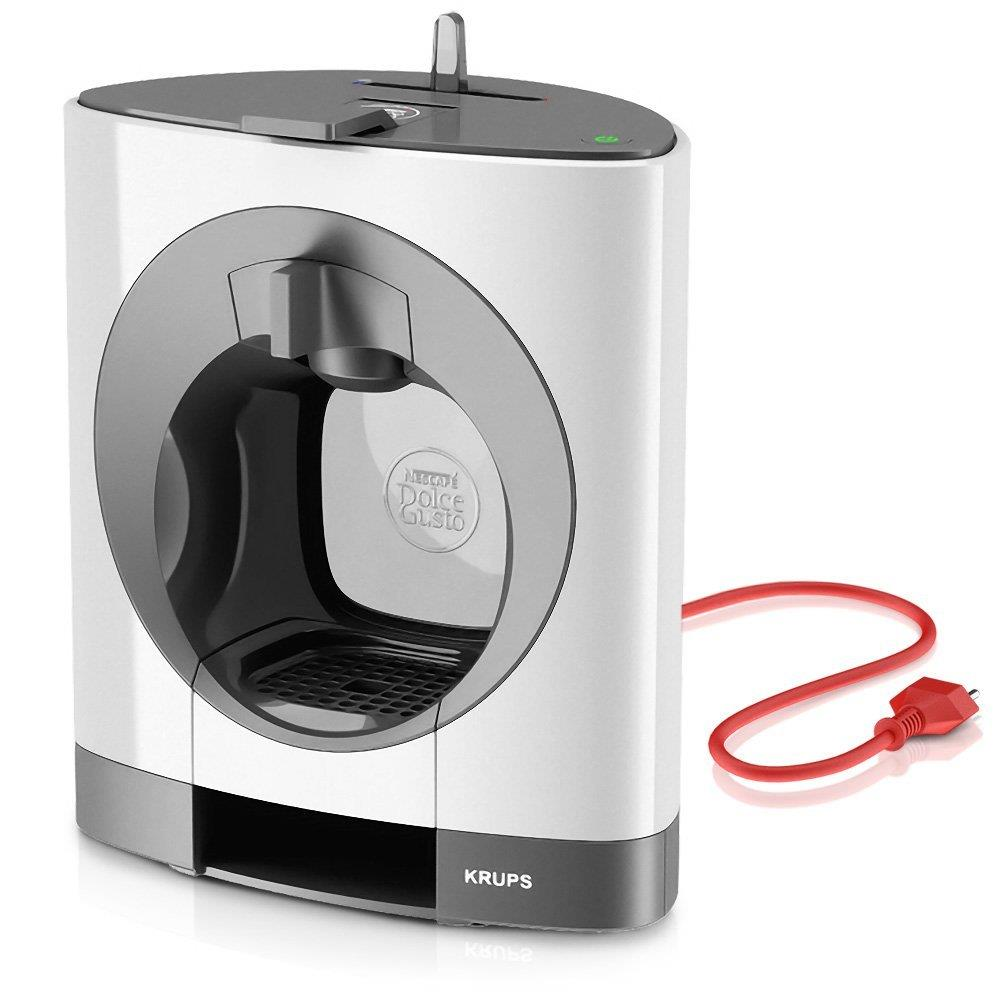 nescafe dolce gusto oblo manual coffee machine by krups white ebay. Black Bedroom Furniture Sets. Home Design Ideas