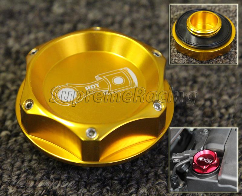 PURPLE RDT BILLET ALUMINUM ENGINE OIL CAP COVER UNIVERSAL FITS ALL HONDA ACURA