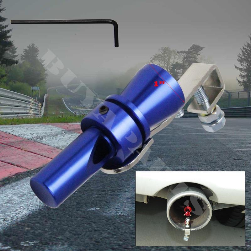 Yosoo Health Gear Universal Aluminum Turbo Sound Simulator Whistle Car Blow‑off Valve Simulator Whistler