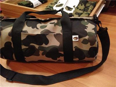 5bf7dd9ce8cb Sale! 2 Left !Japan Ape camouflage duffle boston shoulder crossbody ...